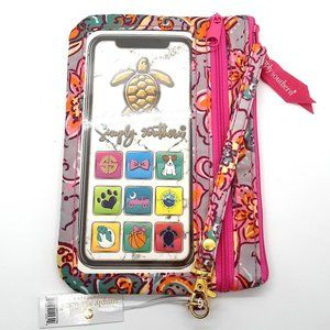 Simply Southern Phone Wristlet - FLORAL